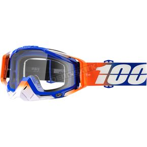 100% Racecraft Roxbury Goggles w/Clear Lens - 50100-221-02