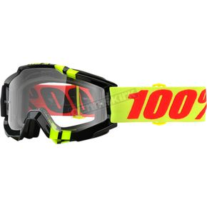 100% Accuri Zerbo Goggles w/Clear Lens - 50200-225-02