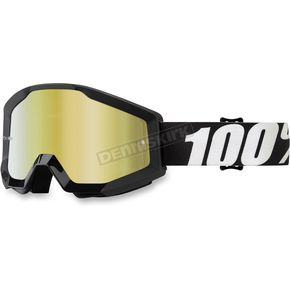 100% Strata Junior Nation Goggles w/Clear Lens - 50500-236-02