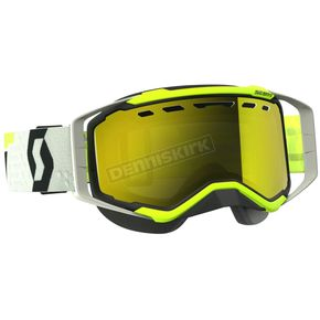Scott Black/Yellow Prospect Snow Goggles w/Amp Yellow Chrome Lens - 262581-1040325