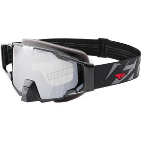 FXR Racing Black/Charcoal Pilot Goggle - 183108-1008-00