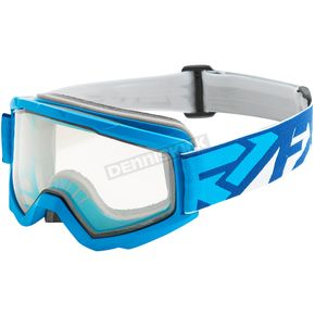 FXR Racing Blue/Navy Squadron Goggles - 183106-4045-00