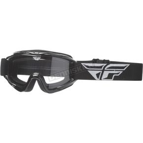 Fly Racing Black Focus Goggles - 37-4000