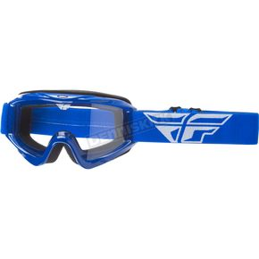 Fly Racing Blue Focus Goggles - 37-4001