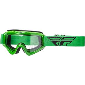 Fly Racing Green Focus Goggles - 37-4005