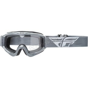 Fly Racing Gray Focus Goggles - 37-4006