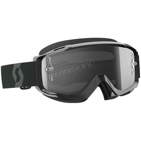 Scott Black Split OTG Goggles w/Gray Lens - 262599-1007327