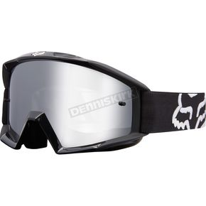 Fox Black Main Race Goggles - 19968-001-NS