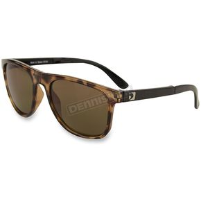 Bobster Hex Gloss Tortoise RX Ready Folding Sunglasses w/Brown Lenses - EHEX002