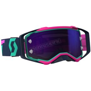 Scott Teal/Pink/Purple Prospect Goggles w/Purple Chrome Works Lens - 262589-5720281