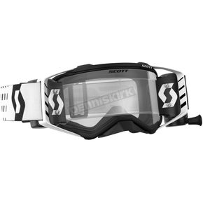 Scott Black/White Prospect WFS Goggles w/Clear Lens - 26259-01007113