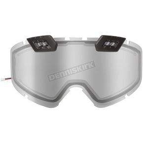 Silver Mirror Dual Pane/Vents Lens for 210 Tactical Electric Goggles - 120129#