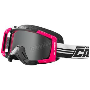 Castle X Hot Pink Stage Blackout OTG Snow Goggle w/Mirror Silver Lens - 64-1887