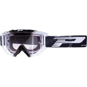 Black 3200 MX/Enduro Venom Goggles w/Light Sensitive Lens - PZ3200NERO