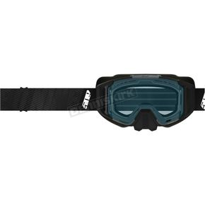 Carbon Fiber Sinister XL6 Goggles w/Photochromatic Clear to Blue Tint Lens - F02000900000-601