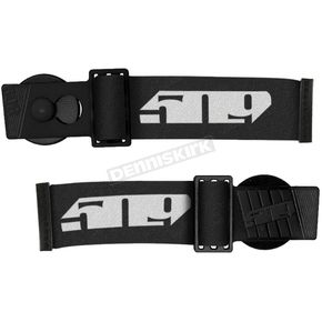 Black Short Straps for Sinister X6 Goggles - F02004500000-000