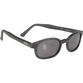 Matte Black Sunglasses w/Smoke Lens - 20010
