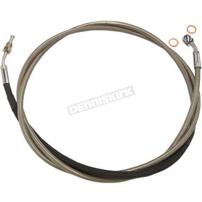 Magnum XR Polished Stainless Hydraulic Clutch Line - SSC0104-82