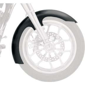 Klock Werks 19 in. Slicer Tire Hugger Series Front Fender w/Raw Mounting Blocks - 1401-0538