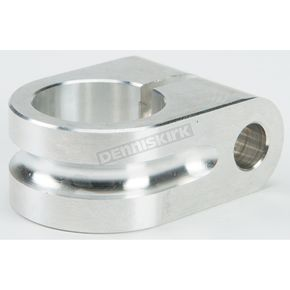 Rooke Customs 7/8 in. Raw Milled Mirror Mount - R-MM875-MA
