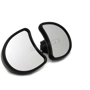 V-Twin Manufacturing Black Fairing Mirror Set - 34-0056