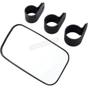 Rear & Side View UTV Mirror w/Three Clamp Sizes - 0640-1193