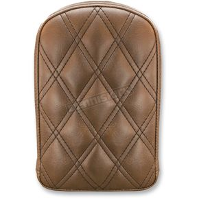 Saddlemen Brown Universal Gravestone Sissy Bar Pad for Lariat Style Seat - 041145