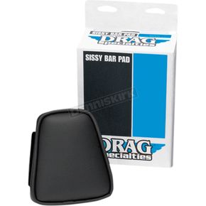 Smooth-Stitch Tapered Backrest Pad for Round Sissy Bar - 0822-0341