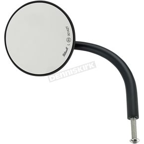 Black 3 3/4 in. Round Perch Mounted Utility Mirror - 6503-400-131