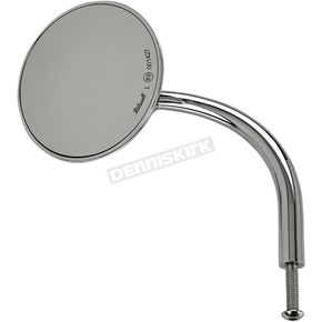 Chrome 3 3/4 in. Round Perch Mounted Utility Mirror - 6503-400-531