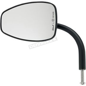 Black 5 1/2 in. Teardrop Perch Mounted Utility Mirror - 6504-400-131