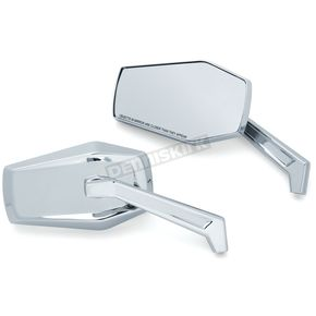 Chrome Hex Mirrors - 5918