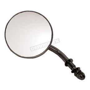 Black 3 in. Early Style Round Mirrors - 47025