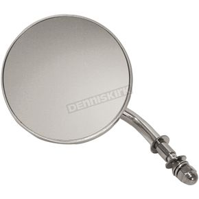 Chrome 4 in. Early Style Round Mirrors - 47010