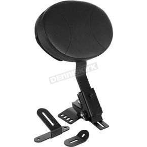Black/Black Driver/Rider Backrest - HW157337