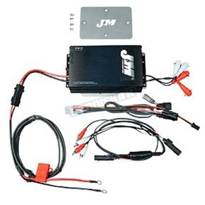 J&M Corporation Performance Series 360W RMS 4-Channel Amp Kit - JMAA-360HR15RC