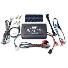 J&M Corporation Rokker XXRP 630W 4-CH DSP Programmable Amplifier Universal Kit - JAMP-630HD98UNV