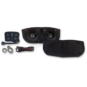 Metrix Audio Bluetooth Enabled Speaker System for Memphis Shades Batwing Fairings - MSA1-BT