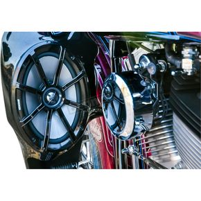 Klock Werks Powered by Kicker Audio Fit Kit For King Tour Pack w/Factory Speaker Pods - 4405-0468