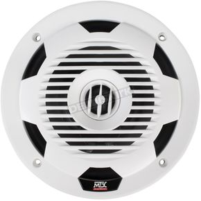 White 7.7 in, Coaxial Marine Speakers - WET77-W