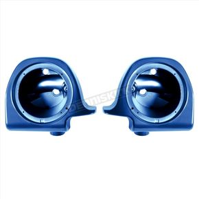 Superior Blue 6 1/2 in. Lower Vented Fairing Speaker Pod Mounts - HW144006