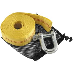 Yellow 20 ft. Heavy-Duty Tow Strap - 156652