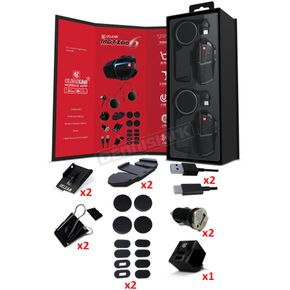 Motion 6 Dual Helmet Communication System - 180509