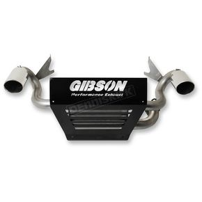 Gibson Stainless Dual Slip-On Mufflers - 98025