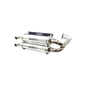 Trinity Racing Brushed Stage 5 Exhaust System - TR-4153D