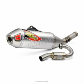 Pro Circuit T-6 Stainless Exhaust System w/Spark Arrestor - 0121725G