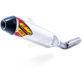 FMF Aluminum/Stainless Factory 4.1 RCT Slip On Muffler w/Carbon End Cap - 042348