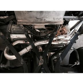 Trinity Racing Full Brushed Exhaust System - TR-4121F