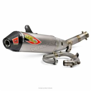 Pro Circuit T-6 Stainless/Aluminum/Stainless Exhaust System w/Removable Spark Arrestor - 0131725G