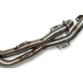 Trinity Racing Black Dual Exhaust System - TR-4145D-BK